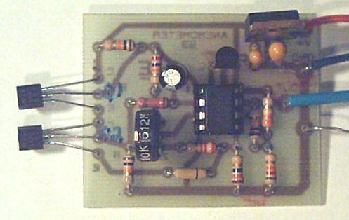 An Anemometer Circuit
