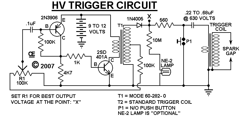 A HV Arc Circuit