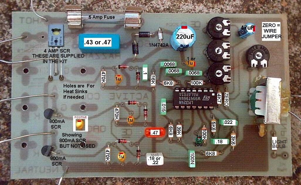 3 Channel 110 Vac Home Color Organ
