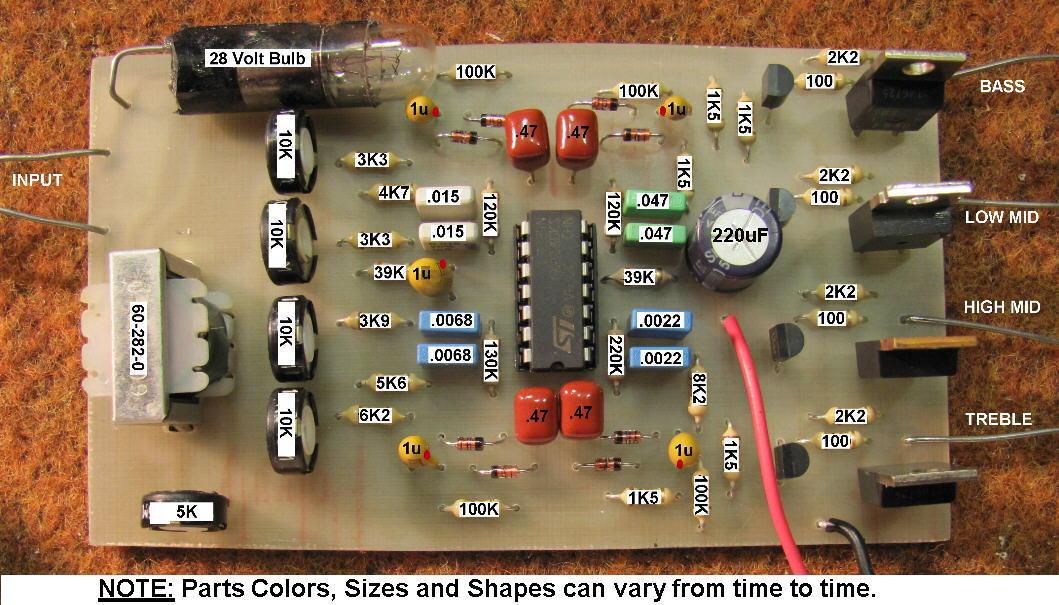 4 channel  12 volt color organ for your car