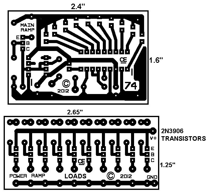 lm3914 ramp display