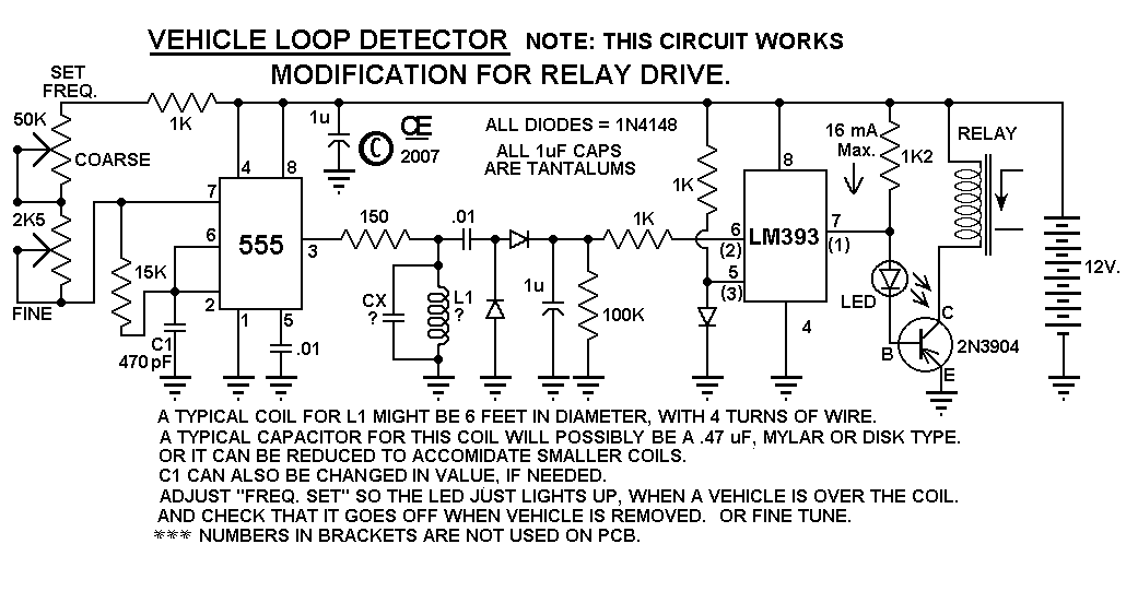Loop Sch2 vehicle loop detector induction loop wiring diagram at gsmx.co