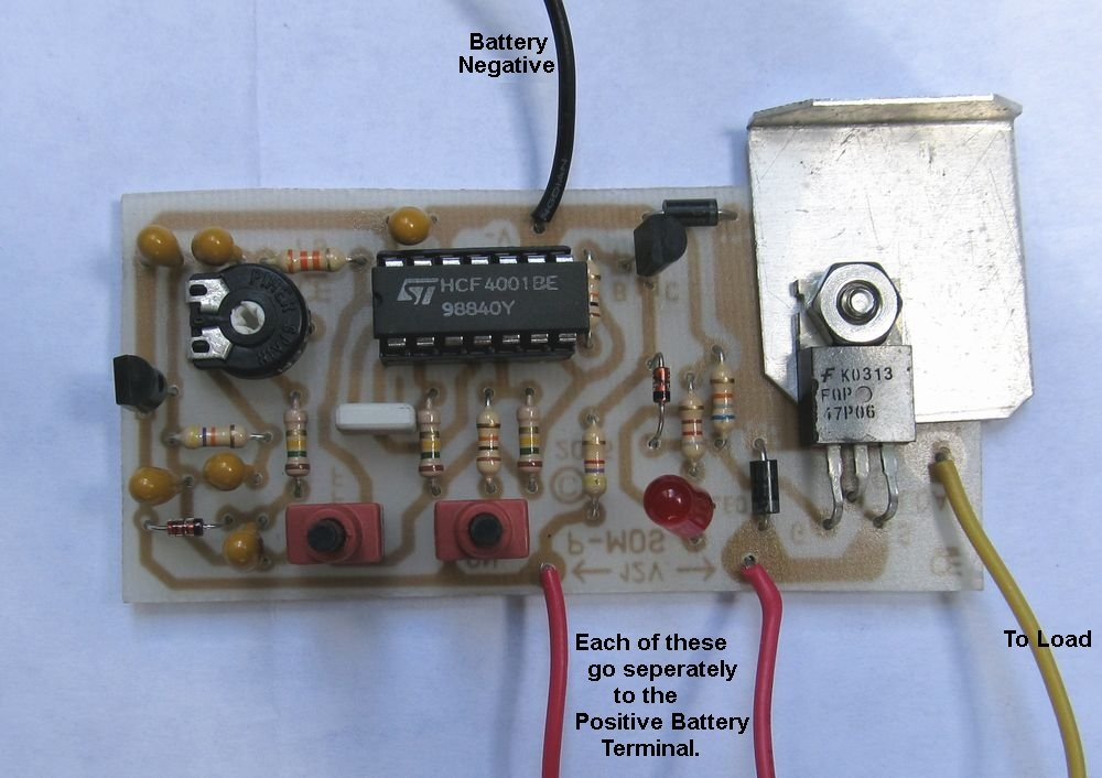 A Low Battery Cut-Off Circuit Bat Wiring A Circuit on solenoid a circuit, testing a circuit, design a circuit, relay a circuit, troubleshooting a circuit, building a circuit,