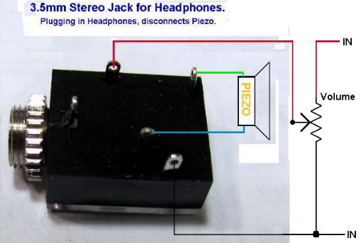 3 5mm stereo audio jack pinout image collections