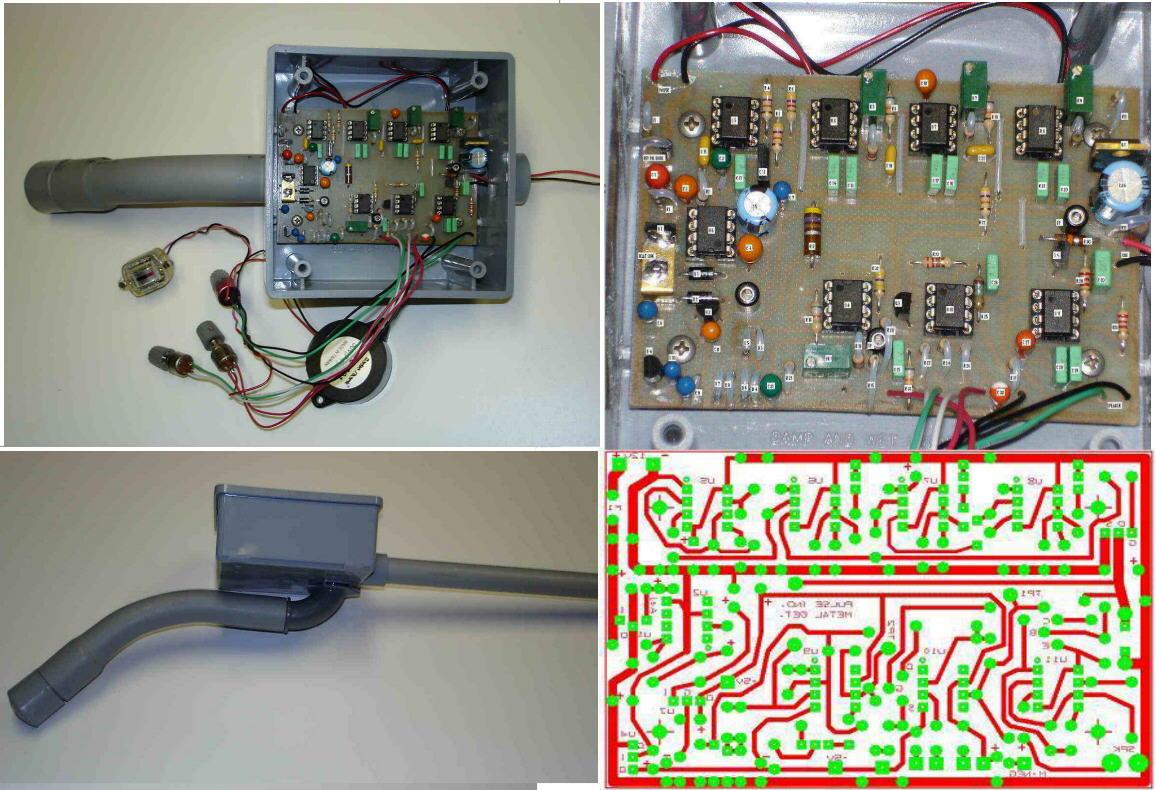 Metal Detector Plans Output Circuit Of Pi Longrangelocators Forums Darrels 1155x790