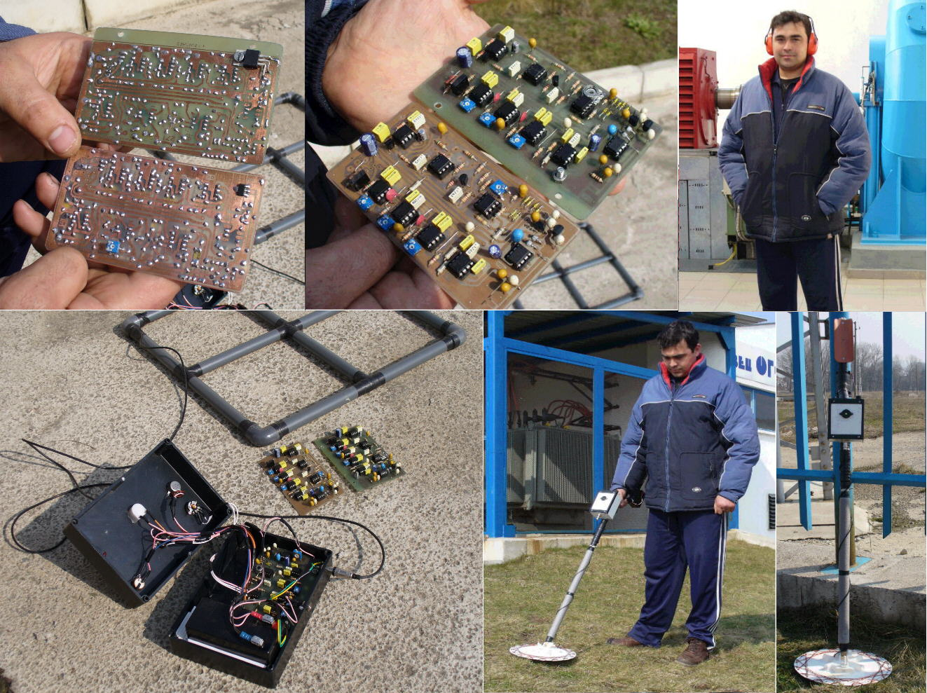 Some Pictures Of My Pi Detectors That Have Been Built By Hobbiests Pulse Induction Metal Detector Circuit As Well Plamens In Bulgaria