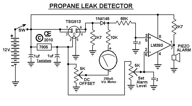 Propane Leak Detector