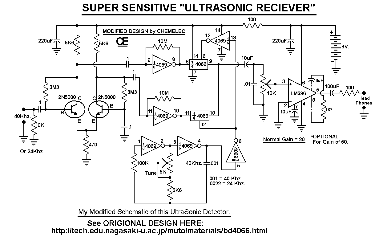 Super Sensitive Ultrasonic Sound Detector 2