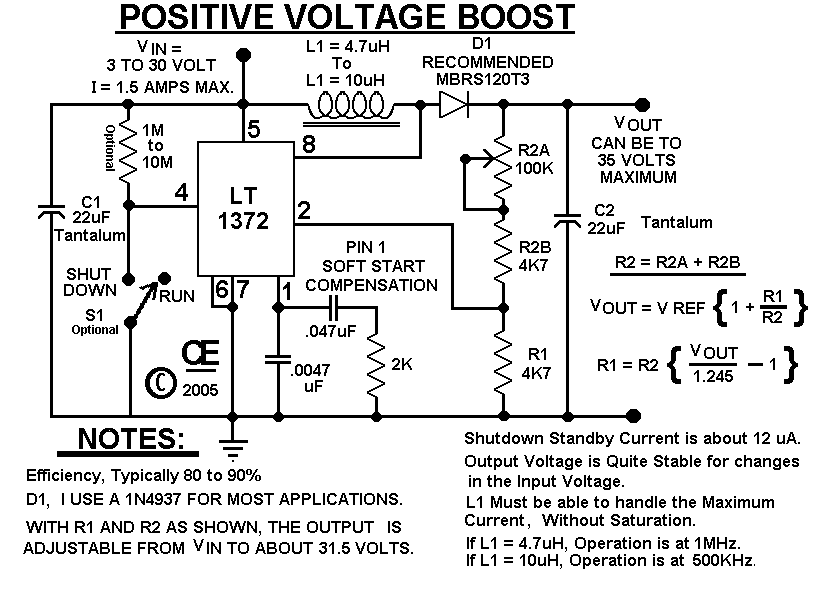 simple voltage booster